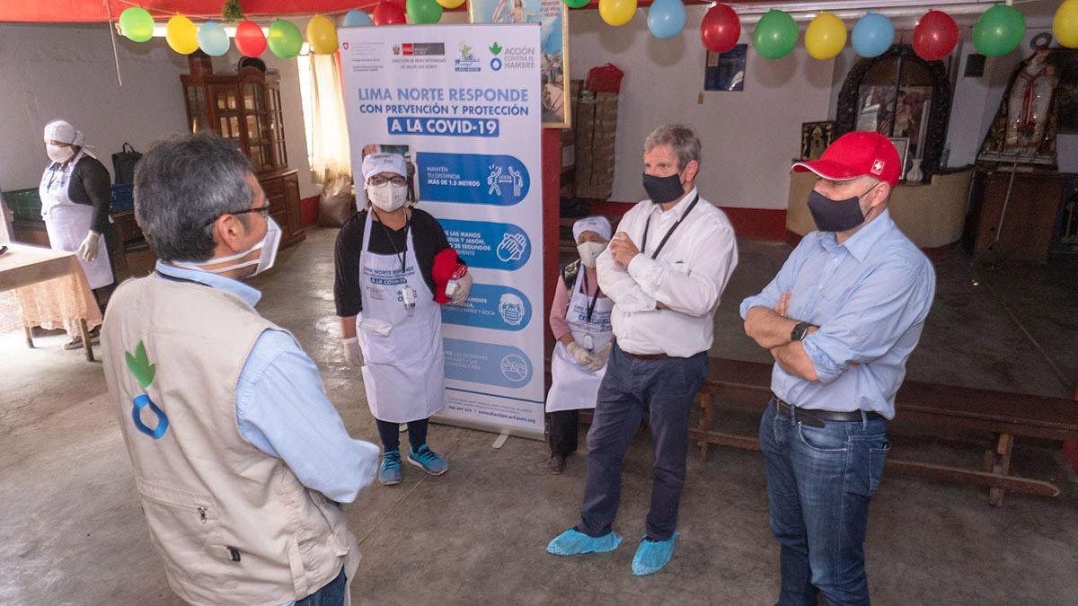 Centros de Salud, mercados y comedores populares trabajan para prevenir la Covid-19 en Lima Norte