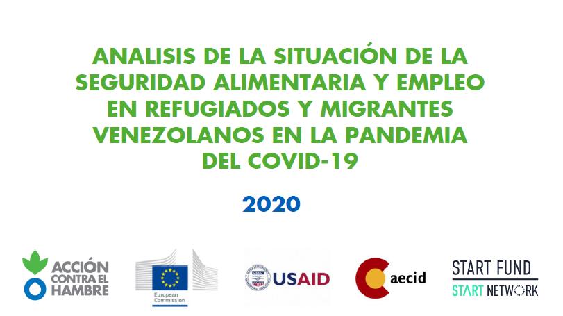 Seguridad Alimentaria y empleo en Migrantes y Refugiados
