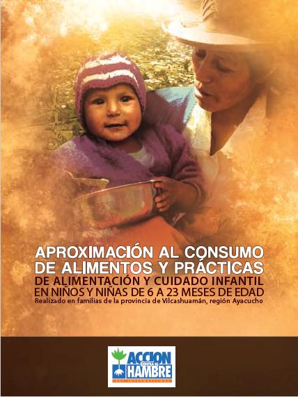 Consumo de alimentos y practicas de alimentacion y cuidado infantil