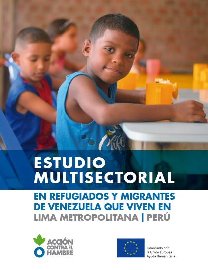 Estudio de refugiados y migrantes en Lima
