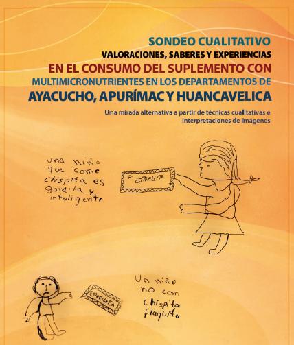 Suplementos multinutrientes Ayacucho Apurimac Huancavelica
