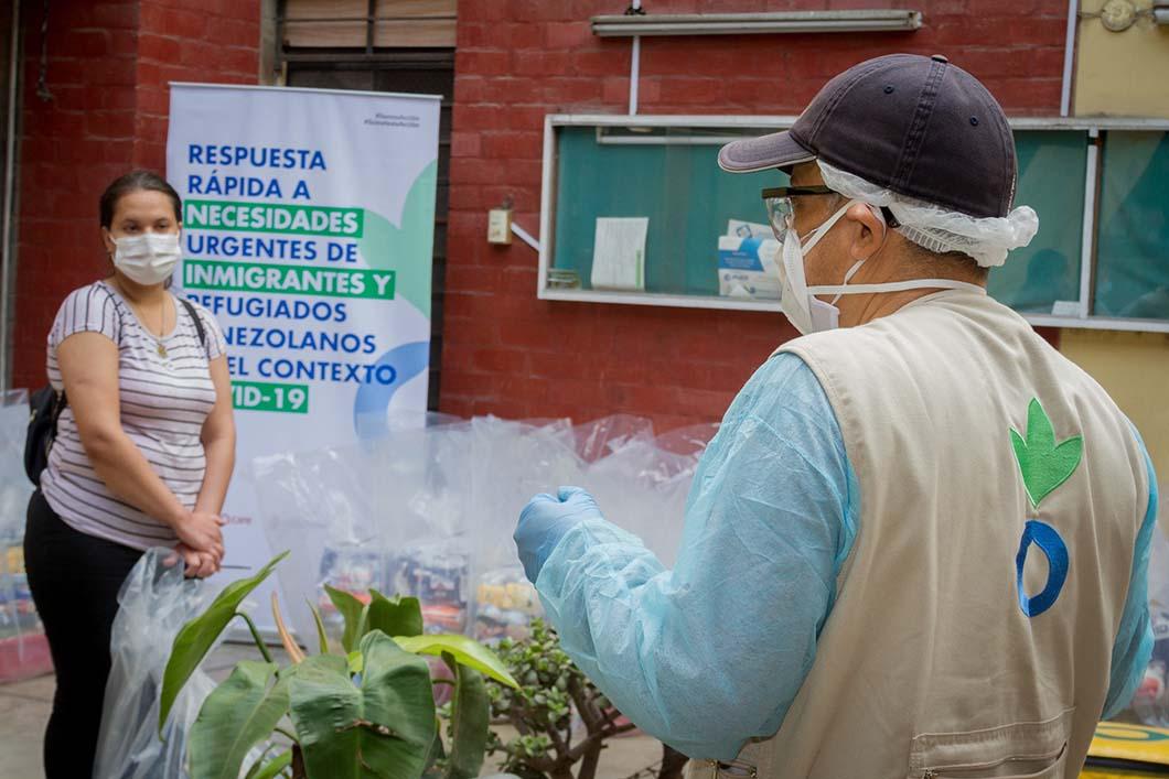 Día Mundial del Refugiado: El 87% de hogares venezolanos en Lima Metropolitana afronta inseguridad alimentaria