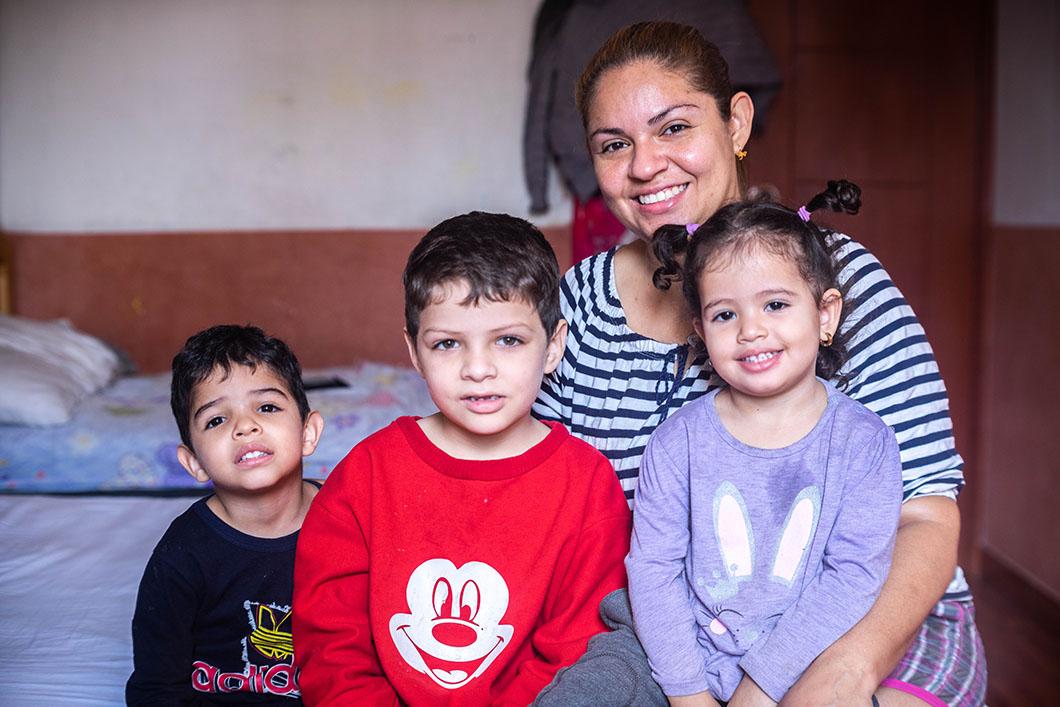 «Los Espacios Amigables han mejorado la convivencia con mis hijos. Es una convivencia basada en el respeto, el apoyo y la comunicación»